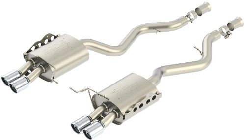 E90 M3 Sedan Borla Cat Back Exhaust - 2008-2011 M3 Rear Section Part # 11803