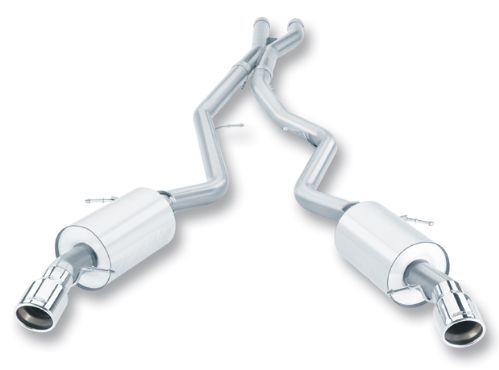 E90/E92 335i/xi Sedan/Coupe Borla Cat Back Exhaust - 2007-2010 335i, 335xi Sedan or Coupe Rear Section Part # 140276